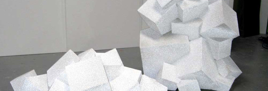 sculptures en polystyrène